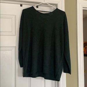 Never worn hunter green sweater